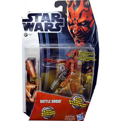 Star Wars Action Figure - Battle Droid (MH04 Red Version) (Toy) (TOYS)