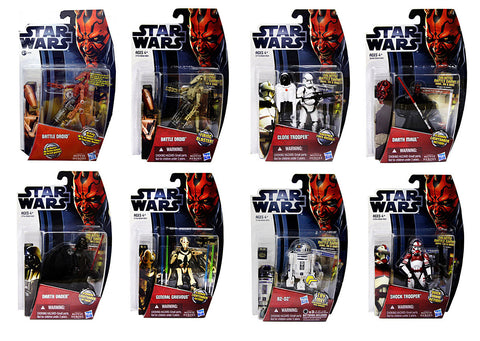 Star Wars - Action Figure - 8 Pack Collection (Toy) (TOYS) TOYS Game
