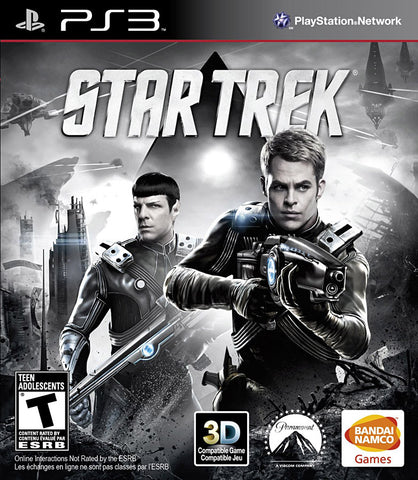 Star Trek (Bilingual Cover) (PLAYSTATION3) PLAYSTATION3 Game