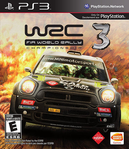 WRC 3 - FIA World Rally Championship 2012 (Bilingual Cover) (PLAYSTATION3) PLAYSTATION3 Game