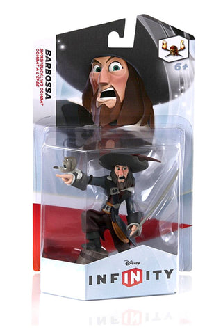 Disney INFINITY Figure - Pirates Of The Caribbean - Captain Barbossa (Toy) (TOYS) TOYS Game