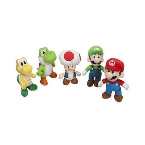 Super Mario Plush - 5 Pack Collection (Toy) (TOYS) TOYS Game