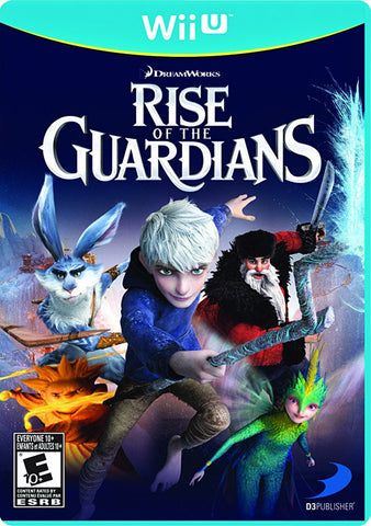 Rise of the Guardians (Trilingual Cover) (NINTENDO WII U) NINTENDO WII U Game