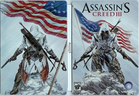 Assassin s Creed III Empty Steelbook Case (Game sold separately) (PLAYSTATION3) PLAYSTATION3 Game