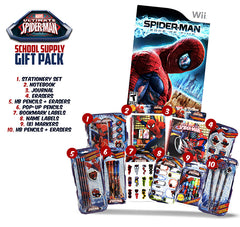 Spider-man - The Edge of Time (Includes Spider-Man School Supply Gift Pack) (NINTENDO WII)