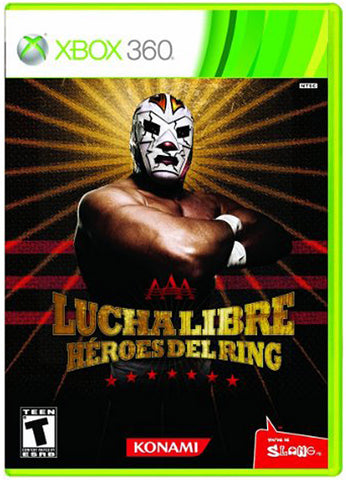 Lucha Libre AAA - Heroes Del Ring (XBOX360) XBOX360 Game