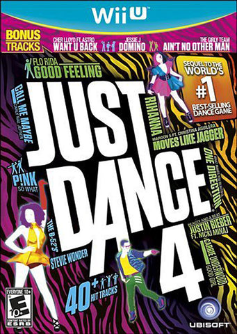 Just Dance 4 (NINTENDO WII U) NINTENDO WII U Game