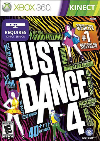 Just Dance 4 (XBOX360) XBOX360 Game