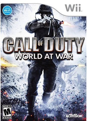 Call of Duty - World at War (NINTENDO WII) NINTENDO WII Game