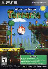 Terraria Collector Edition (French package, Game playable in English or French) (PLAYSTATION3)