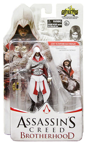 Assassin s Creed Action Figure - Ezio Auditore Da Firenze (Toy) (TOYS) TOYS Game