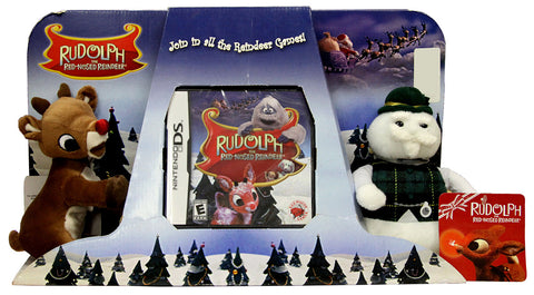 Rudolph and Sam the Snowman Narrator - The Red-Nosed Reindeer Plush (Bundle) (DS) DS Game