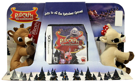 Rudolph and Clarice - The Red-Nosed Reindeer Plush (Bundle) (DS) DS Game