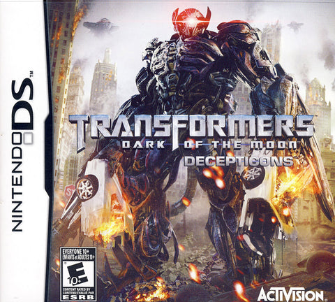 Transformers: Dark of the Moon - Decepticons (Bilingual Cover) (DS) DS Game