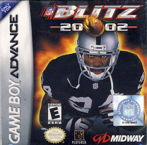 NFL Blitz 2002 (GAMEBOY ADVANCE) GAMEBOY ADVANCE Game