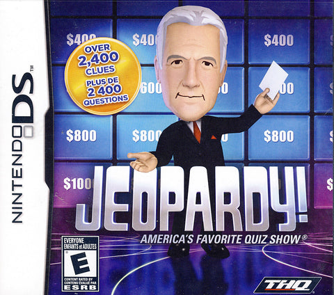 Jeopardy (DS) DS Game