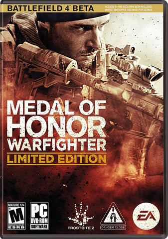 Medal Of Honor - Warfighter (Limited Edition) (PLAYSTATION3) PLAYSTATION3 Game