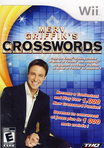 Merv Griffin's Crosswords (NINTENDO WII) NINTENDO WII Game