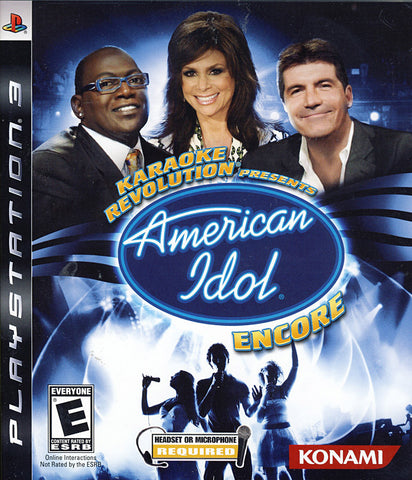 Karaoke Revolution Presents - American Idol Encore (PLAYSTATION3) PLAYSTATION3 Game