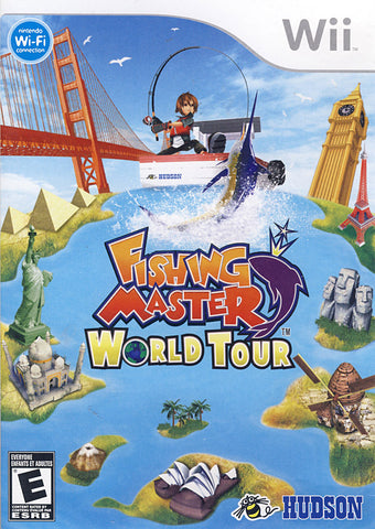 Fishing Master - World Tour (NINTENDO WII) NINTENDO WII Game