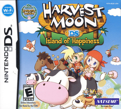 Harvest Moon - Island of Happiness (DS) DS Game