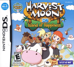 Harvest Moon - Island of Happiness (DS)
