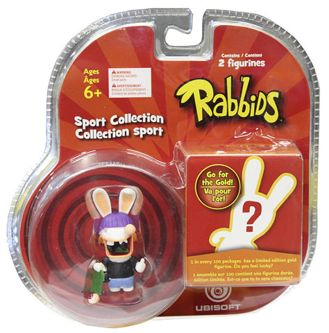 Rabbids Sports collection 2 Figures - Skateboarding (Toy) (TOYS) TOYS Game