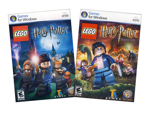 Lego Harry Potter - Years 1-4 and Years 5-7 (2 Pack) (PC) PC Game