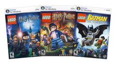 Lego Harry Potter Years 1-4 and Years 5-7 + Lego Batman (3-Pack) (PC)