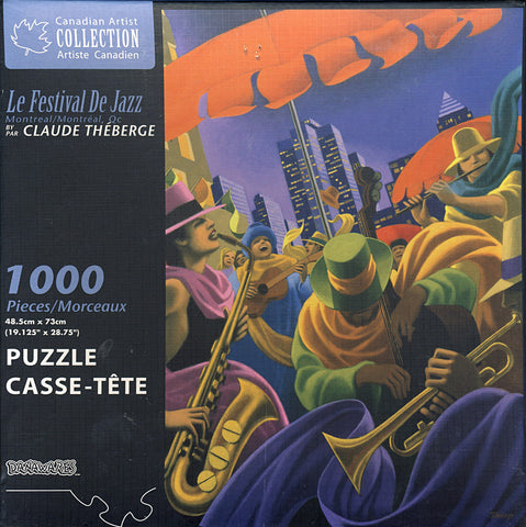 Canadian Artist Collection - Le Festival de Jazz Puzzle (1000 Pieces) (TOYS) TOYS Game