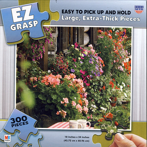 EZ Grasp Puzzle - Wall of Flowers (300 Pieces) (TOYS) TOYS Game