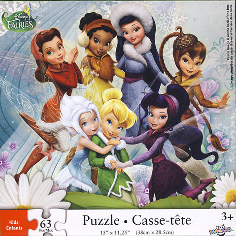 Disney Fairies Puzzle - (63 Pieces) (TOYS) TOYS Game