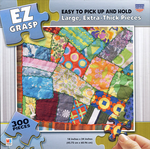 EZ Grasp Puzzle - Patchwork (300 Pieces) (TOYS) TOYS Game