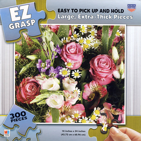EZ Grasp Puzzle - Bouquet (300 Pieces) (TOYS) TOYS Game