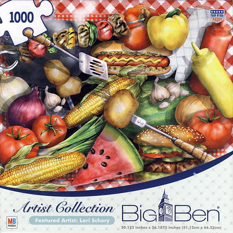 Big Ben, Artist Puzzle - Lori Schory (1000 Pieces) (TOYS) TOYS Game