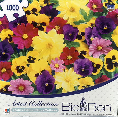 Big Ben, Artist Puzzle - Nancy Mathews (1000 Pieces) (TOYS) TOYS Game