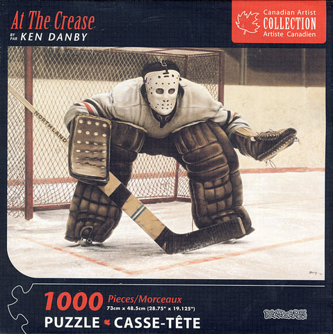 Hockey At the Crease by Ken Danby Puzzle (1000 Pieces) (TOYS) TOYS Game