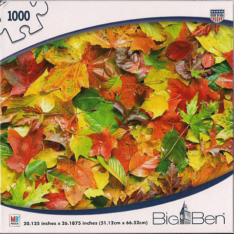 Big Ben - Autumn Leaves Puzzle (1000 Pieces) (TOYS) TOYS Game