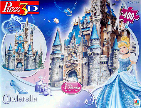 Disney Princess - Cinderella Castle Puzzle 3D (400 Pieces) (TOYS) TOYS Game