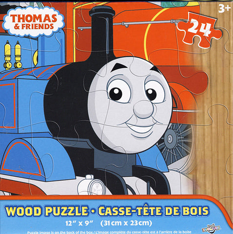 Thomas and Friends Wood Puzzle (24 Pieces) (TOYS) TOYS Game