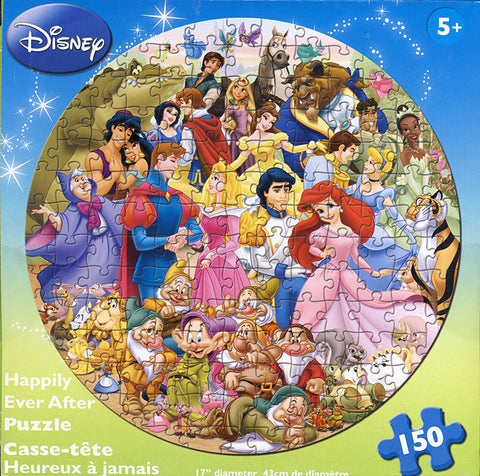 Disney - Happily Ever After Puzzle (150 Pieces) (TOYS) TOYS Game