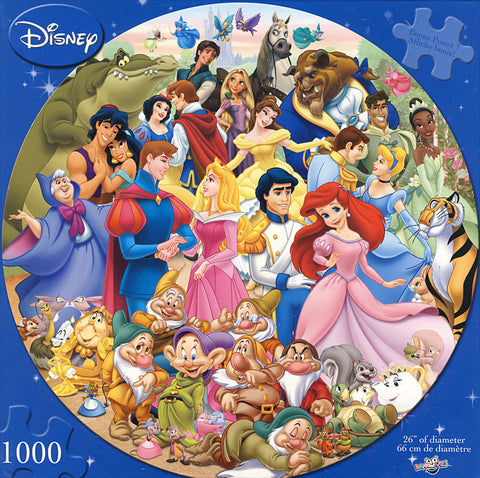 Disney - Happily Ever After Puzzle (1000 Pieces) (TOYS) TOYS Game