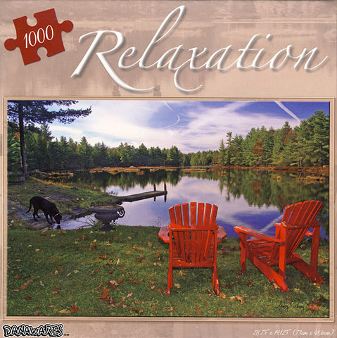 Puzzle Relaxation - Haliburton, Ontario (1000 Pieces) (TOYS) TOYS Game