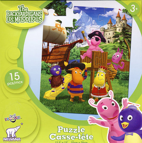 The Backyardigans Puzzle (15 Pieces) (TOYS) TOYS Game