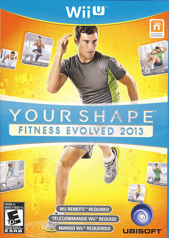 Your Shape - Fitness Evolved 2013 (NINTENDO WII U) NINTENDO WII U Game