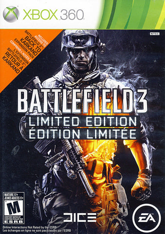 Battlefield 3 (Limited Edition) (XBOX360) XBOX360 Game