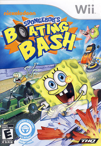 SpongeBob's - Boating Bash (NINTENDO WII) NINTENDO WII Game