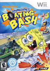 SpongeBob's - Boating Bash (NINTENDO WII)