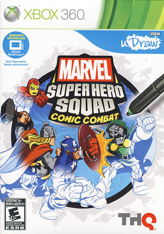 Marvel Super Hero Squad - Comic Combat (uDraw) (XBOX360) XBOX360 Game