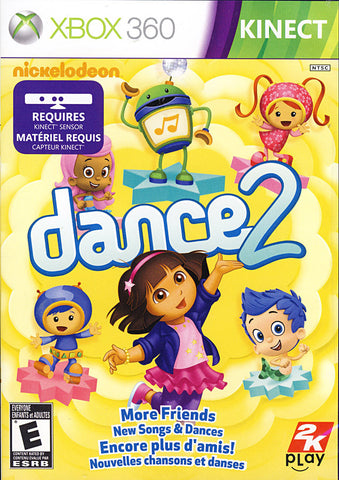 Nickelodeon Dance 2 (Kinect) (XBOX360) XBOX360 Game
